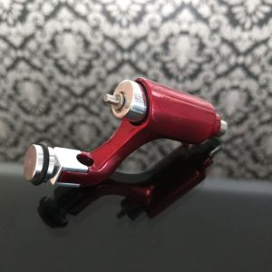 Máquina de Tatuar rotativa Vermelha